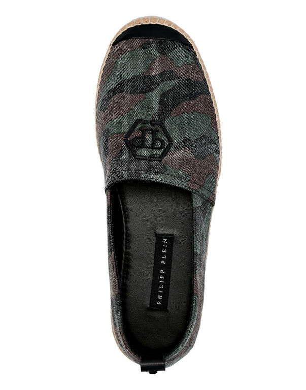 Canvas Espadrillas  Camouflage