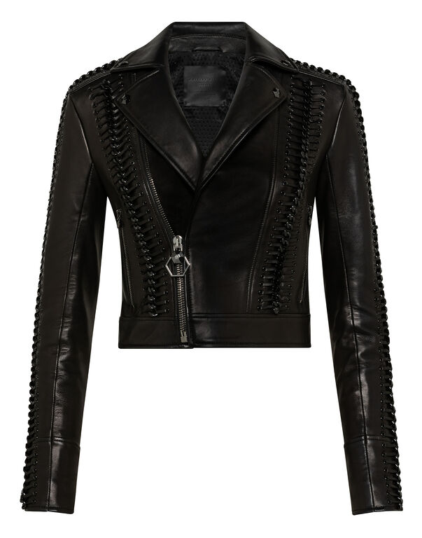 Leather Biker Elegant