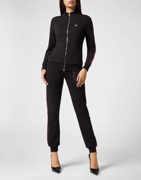 Jogging Jacket Crystal Plein