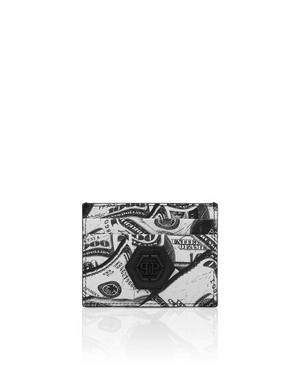 Credit Cards Holder Hexagon Dollar
