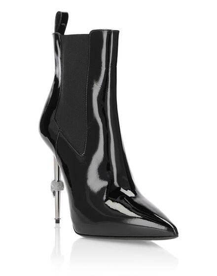 bootie high heels