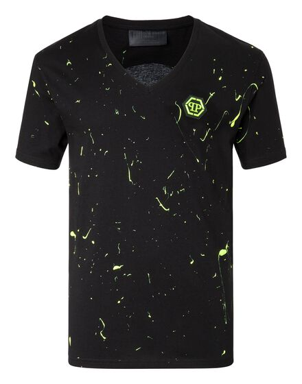 T-shirt V-Neck SS Fallin