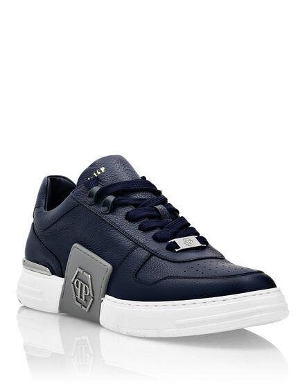 Leather PHANTOM KICK$ Lo-Top Sneakers metal Hexagon