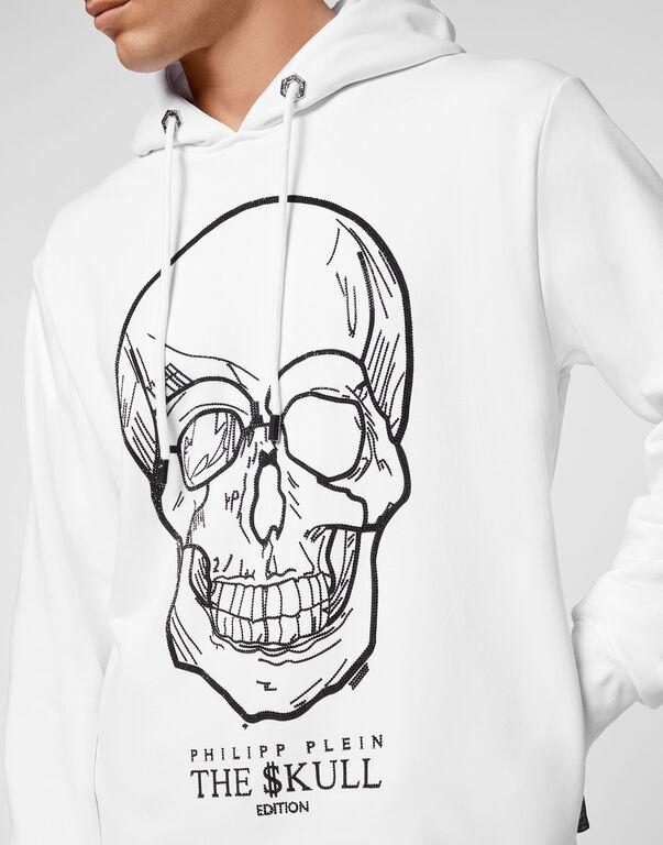 Hoodie sweatshirt stones Skull