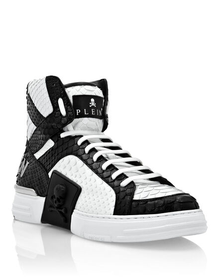 Python Hi-Top Sneakers Luxury