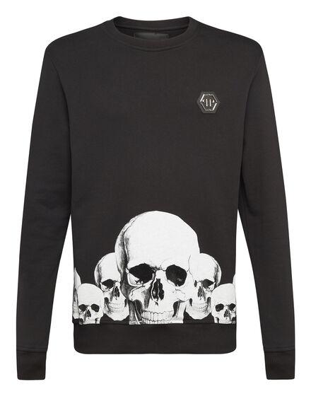Sweatshirt LS Skulls