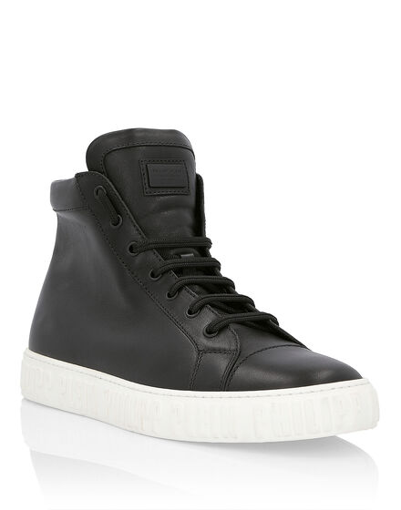 Hi-Top Sneakers Graphic Plein
