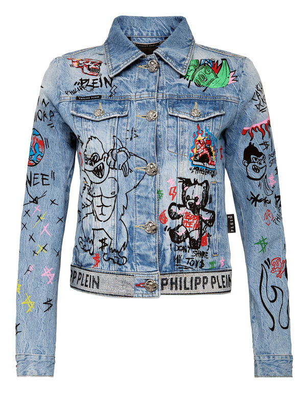 Denim Jacket Art 5 Graffiti