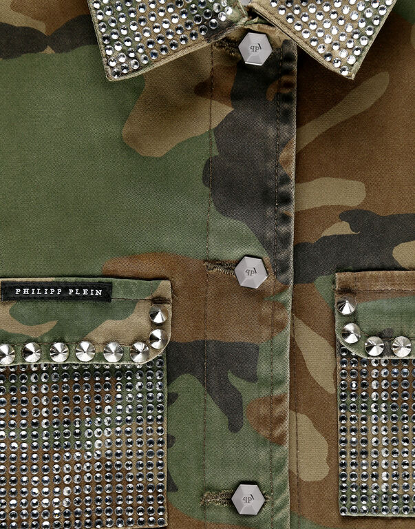 Parka Crystal Camouflage
