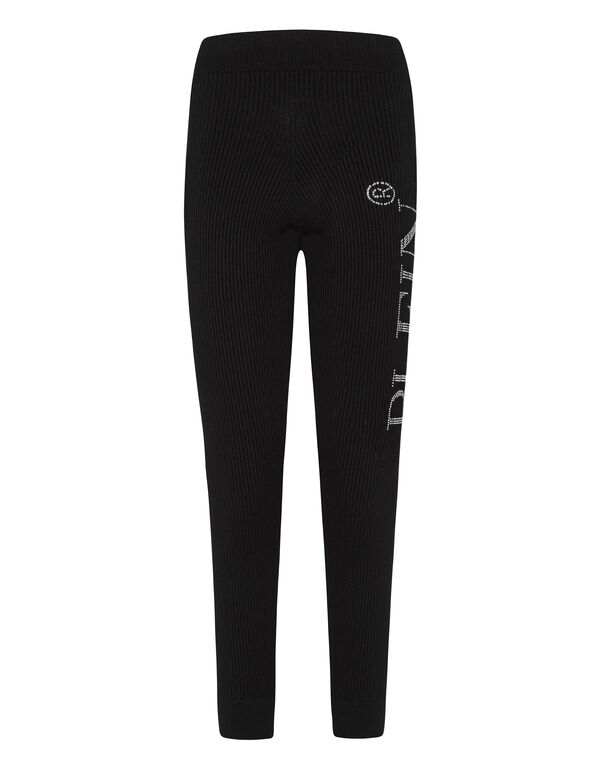 Knit Jogging Trousers Statement