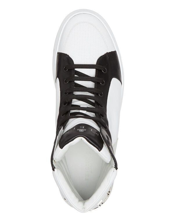 "HI-TOP SNEAKERS ""STRONG EDGES"""