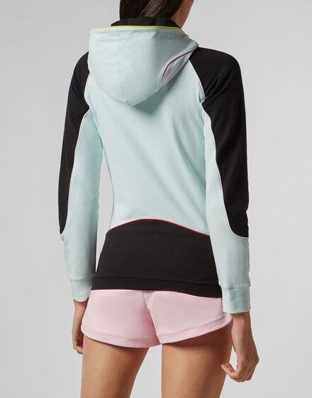 Hoodie Sweatjacket String