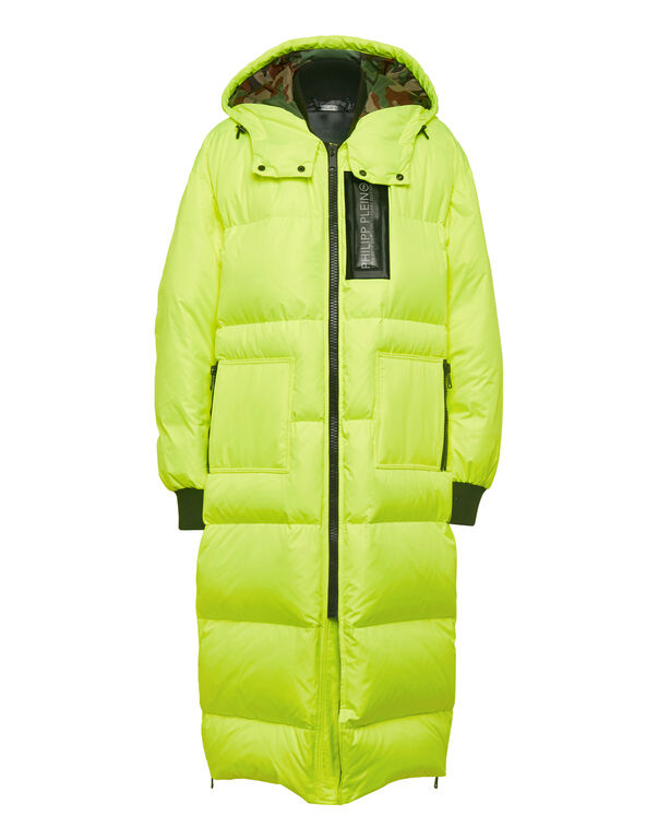 Long Nylon Jacket Space Plein