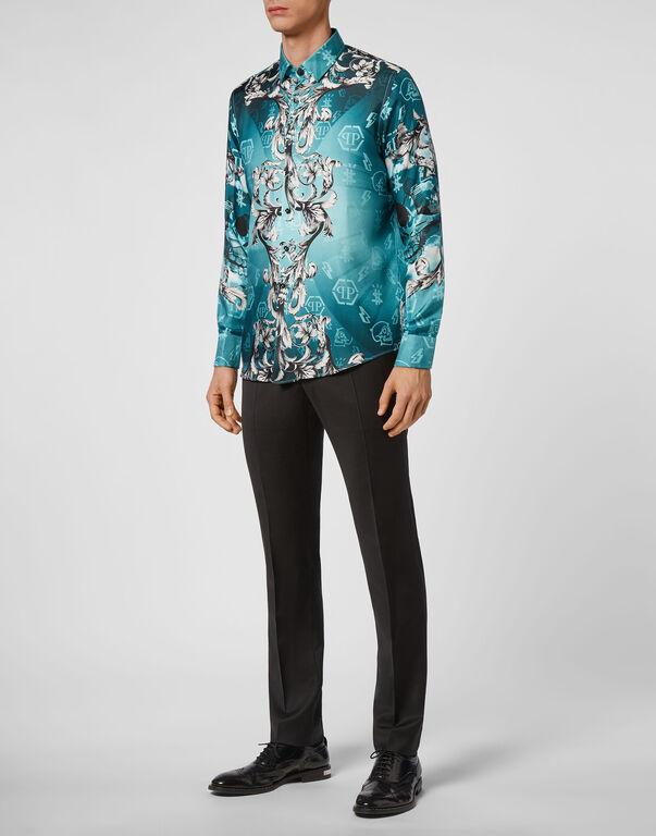 Silk Shirt Dandy LS New Baroque