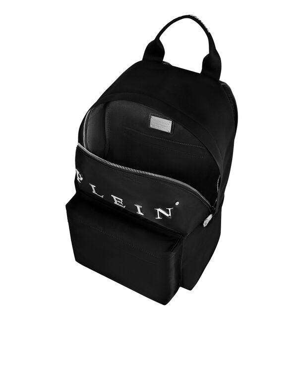 Nylon Backpack Iconic Plein