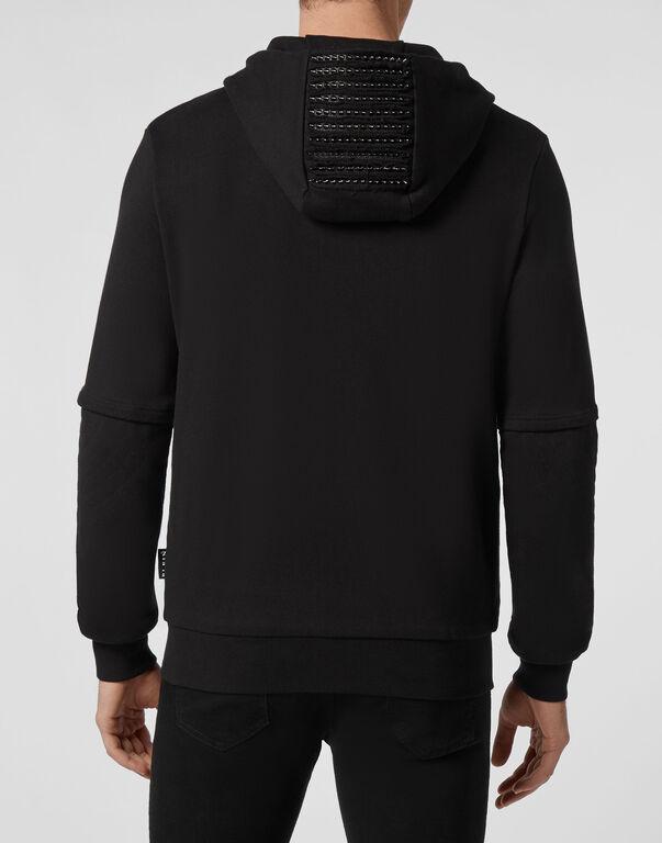 Hoodie Sweatjacket Studs