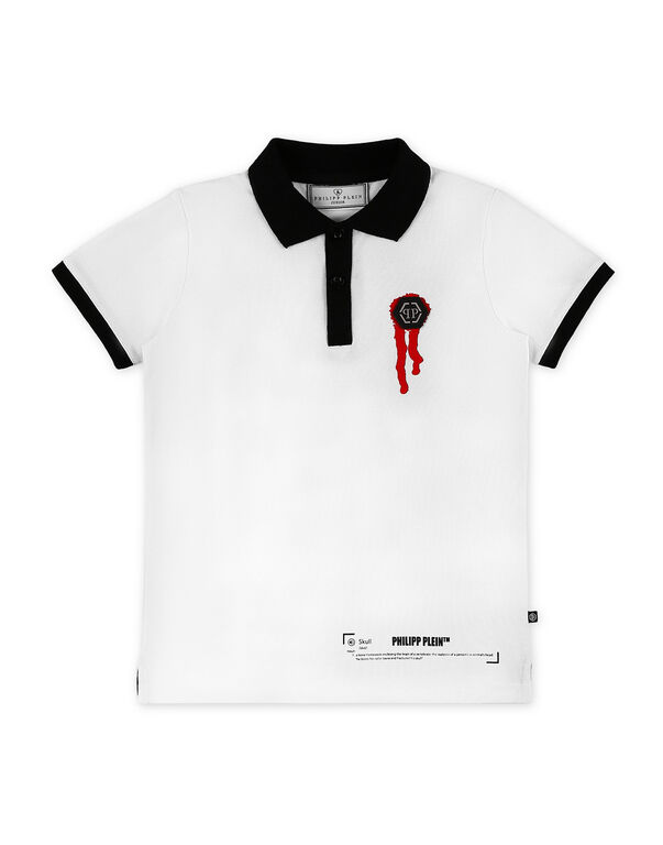 Polo shirt SS Stars and skull