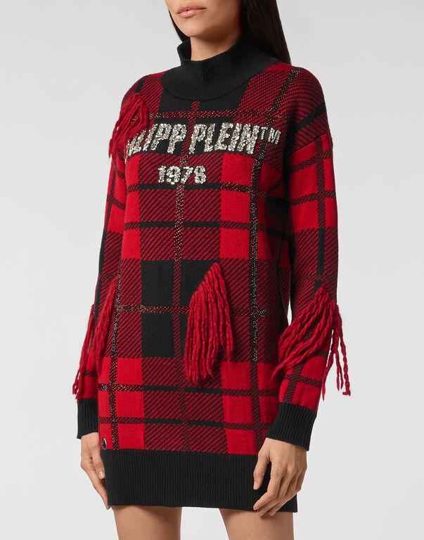 Pullover Round Neck SS Tartan