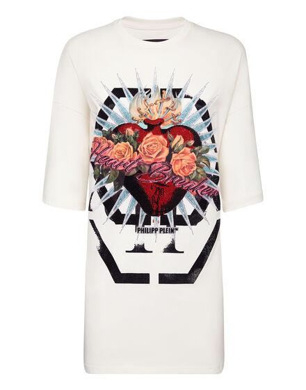 T-shirt Dress Heart Breaker