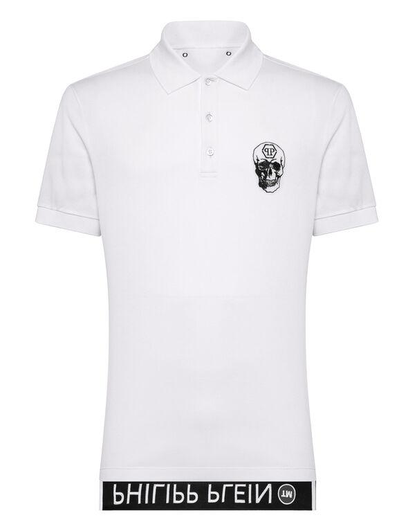 Polo Shirt Ss Skull Philipp Plein