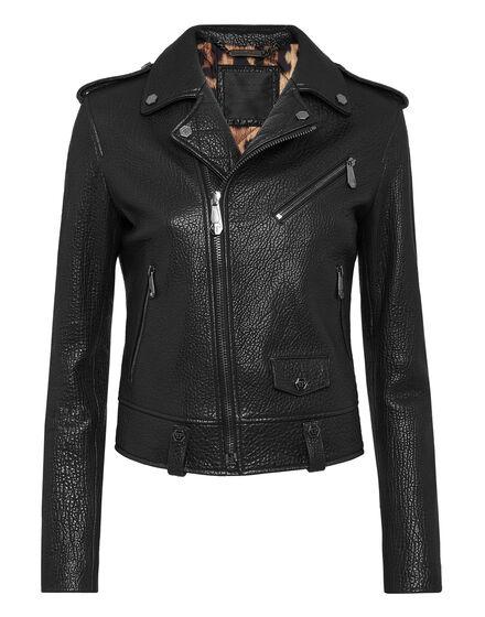 Leather Biker Iconic Plein