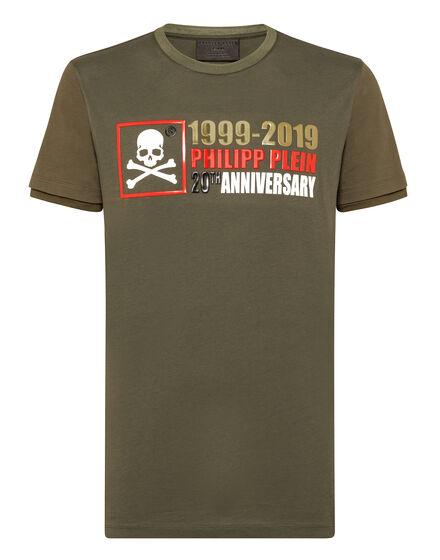T-shirt Platinum Cut Round Neck Anniversary 20th