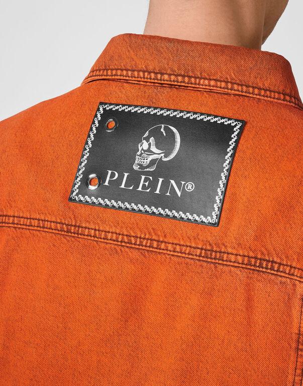 Denim Jacket Colorful Iconic Plein