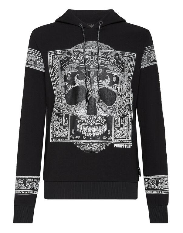 Hoodie sweatshirt Paisley
