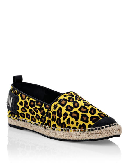Pony Leather Espadrillas Leopard