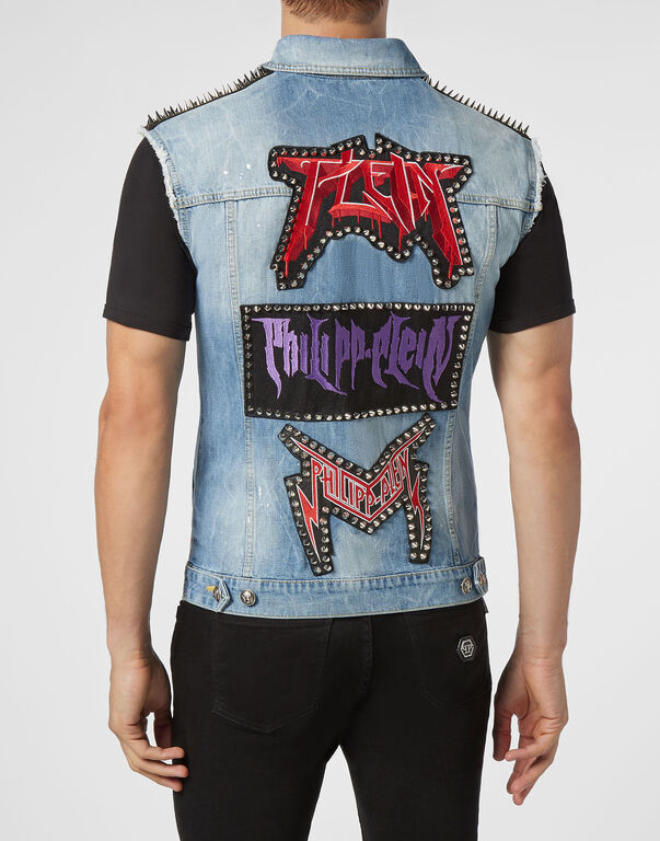 Denim vest Rock PP