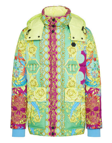 Nylon Jacket print New Baroque