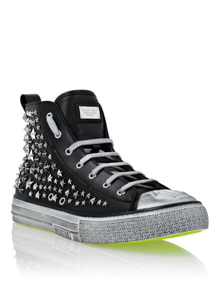 Hi-top Sneakers Studs Megastar