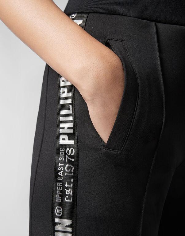 Jogging Trousers Pinstripe Plein