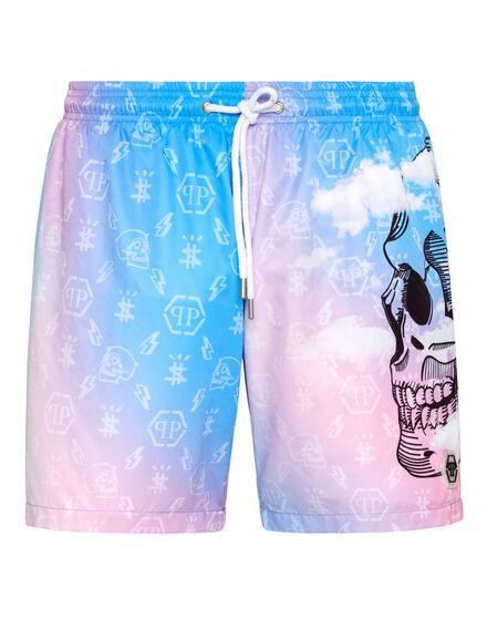 Beachwear Short Trousers Clouds
