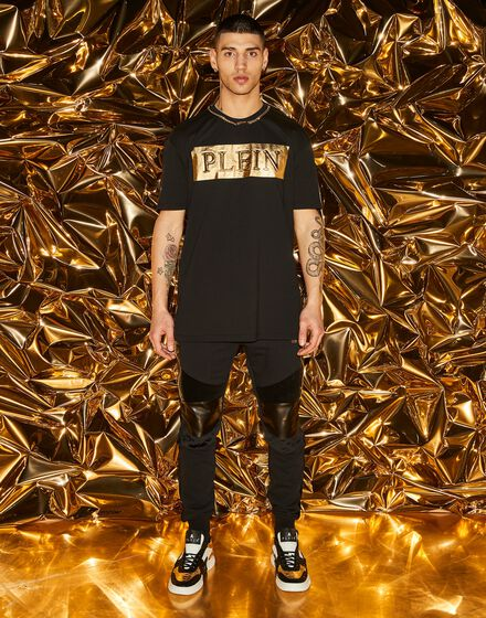 T-shirt Round Neck SS Gold