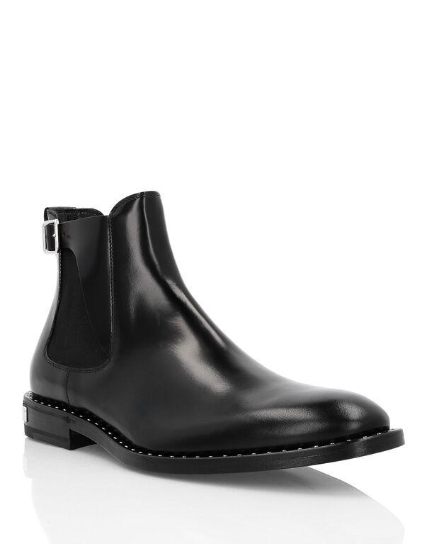 "Boots Mid Flat ""Clark"""