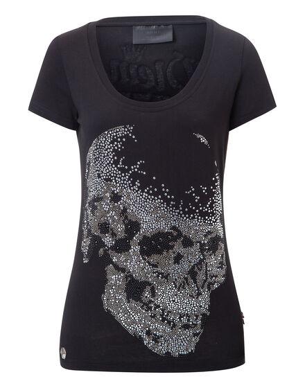 T-shirt Round Neck SS Black Bobtayls