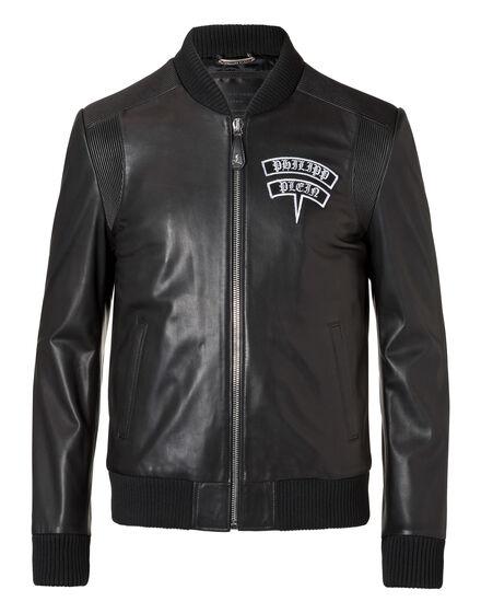 Leather Bomber Nakamura