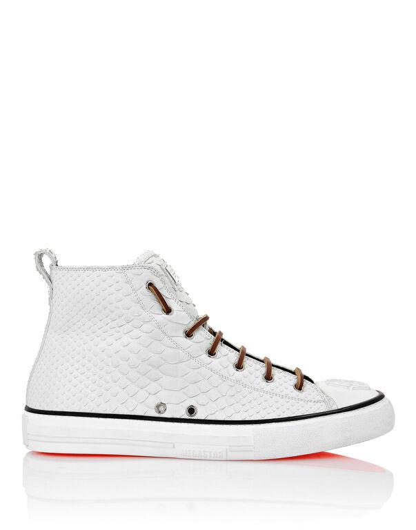 Python Hi-Top Sneakers Luxury Megastar