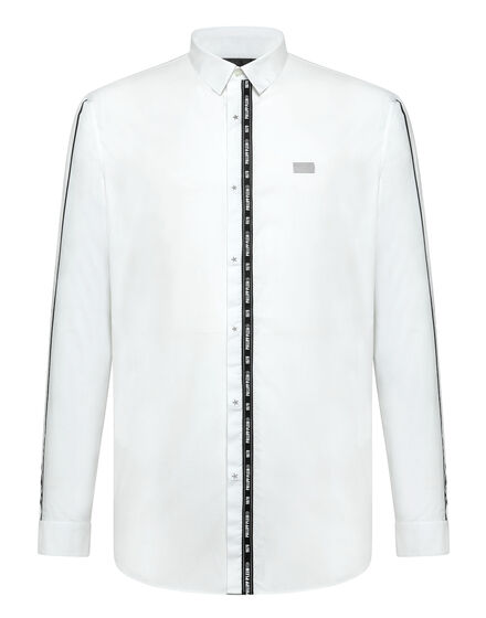 Shirt Crystal cut LS Philipp Plein TM