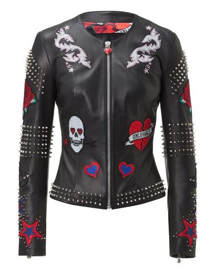 Leather Jacket My Name