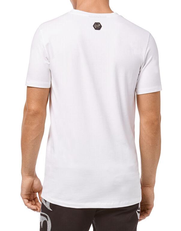 "T-shirt Round Neck SS ""Something"""
