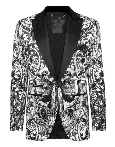 Blazer Lord Fit Print New Baroque