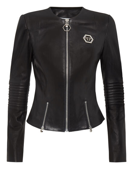 Leather Jacket Skull