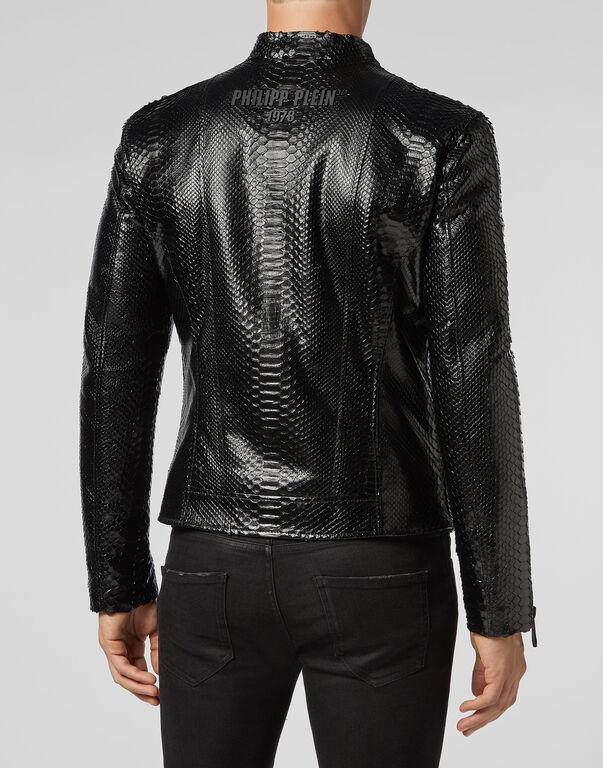 Leather Moto Jacket Luxury