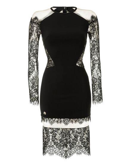 Short Dress Laced Lack