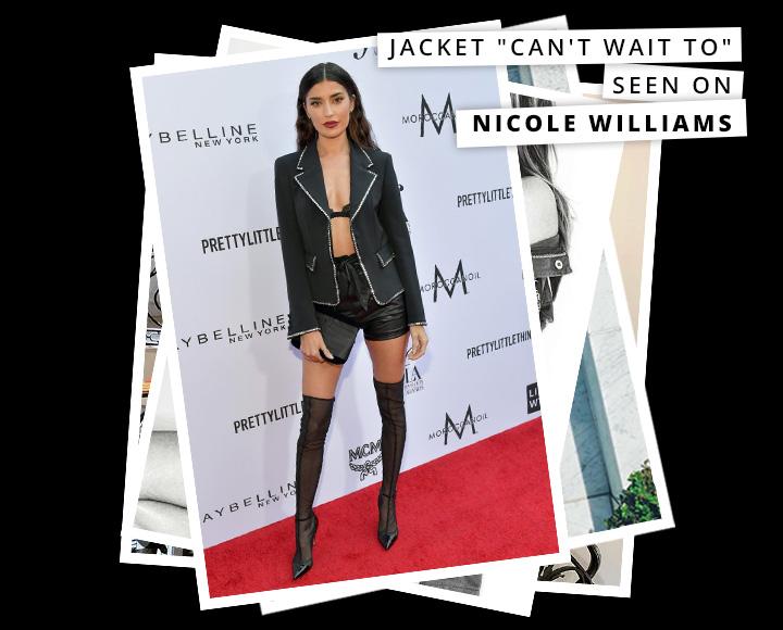Dress like the celebs - Nicole Williams