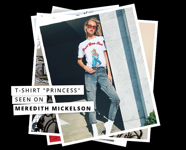 Dress like the celebs - Meredith Mickelson
