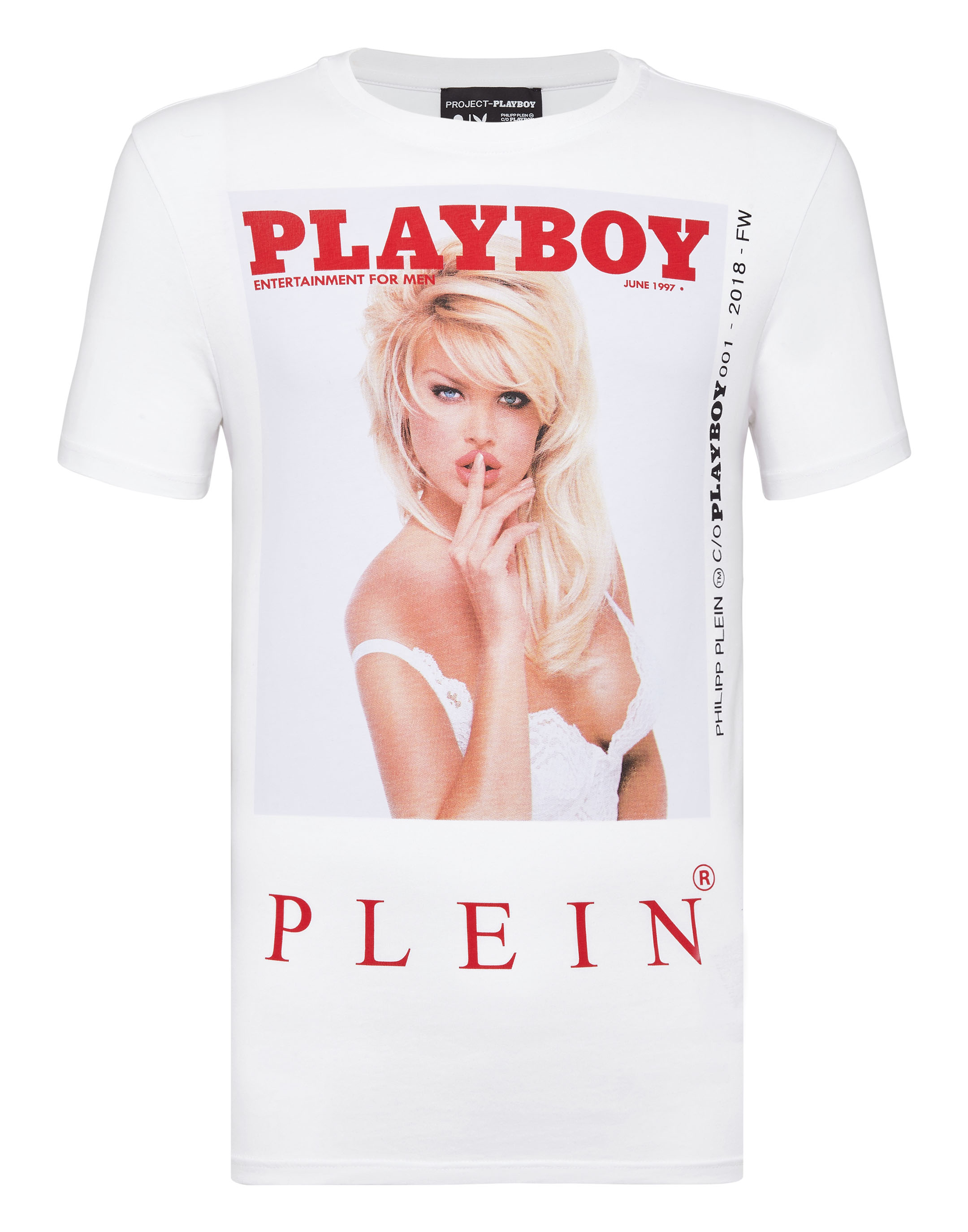 T-shirt Round Neck SS Playboy   Philipp Plein cfe53a9e14