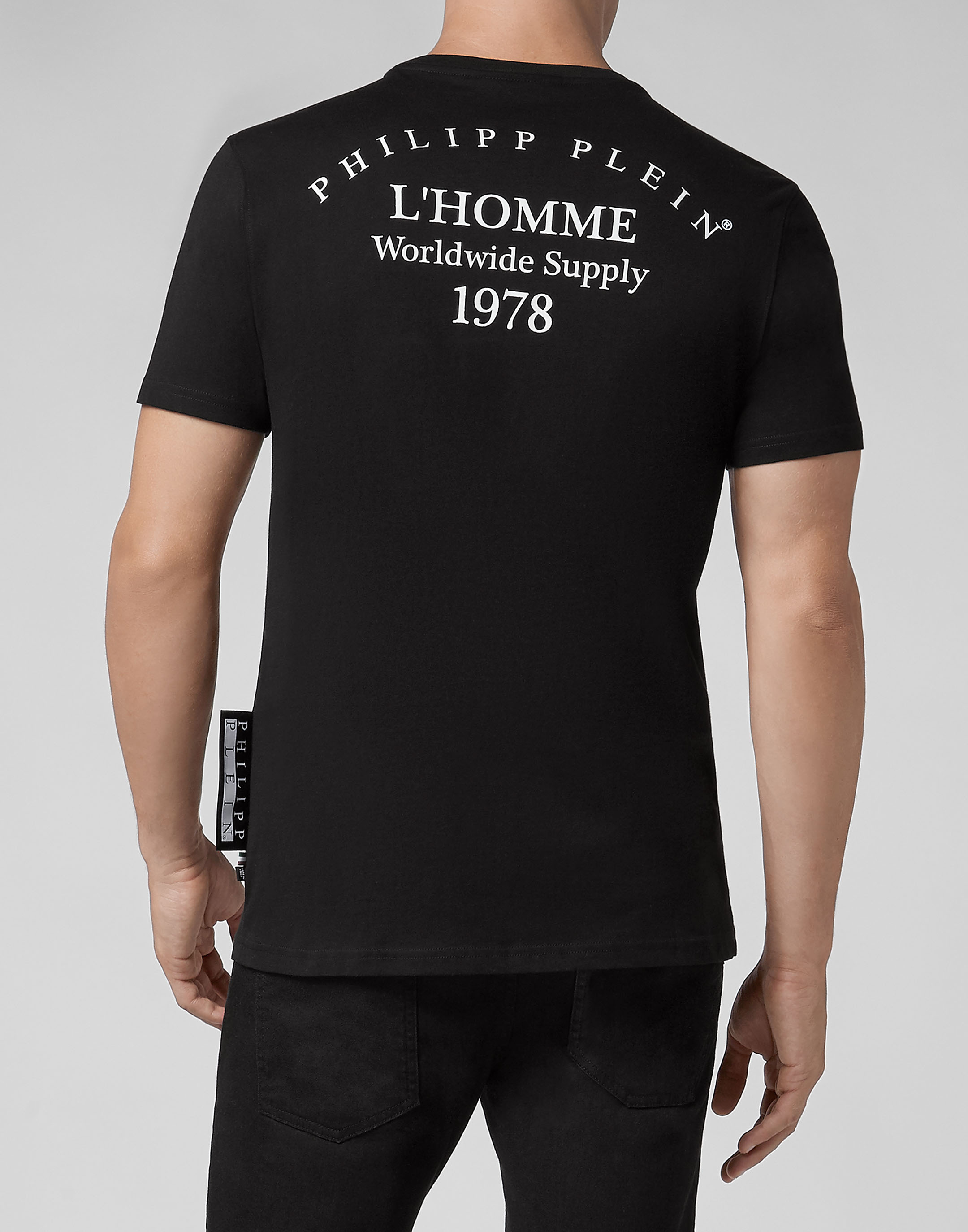 T-shirt Platinum Cut Round Neck Philipp Plein TM   Philipp Plein 187e6fbeb0f